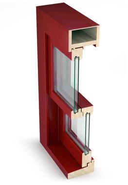 Finestre in legno finestre fintecnic produttore di for Finestra scorrevole verticale